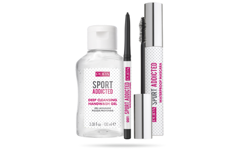 Sport Addicted Kit Mascara & Liner & Handwash Gel - PUPA Milano