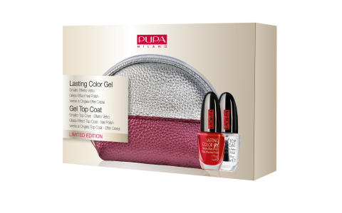 Lasting Color Gel & Gel Top Coat - PUPA Milano