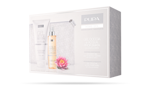 Shower Gel and Scented Water Soothing Moisturizing - PUPA Milano