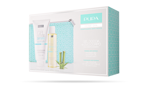 Shower Gel and Body Oil Toning Anti-Fatigue - PUPA Milano