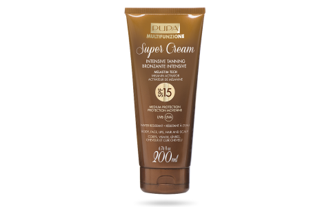 Super Cream   Intensive Tanning SPF 15