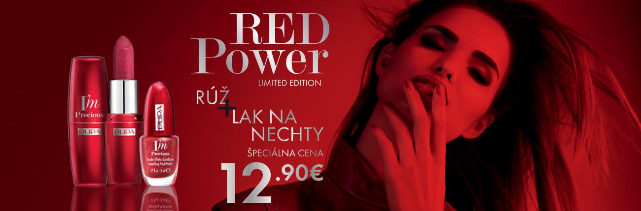 Akcia Red Power - PUPA Milano