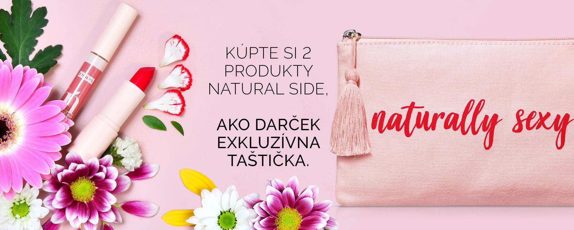 Natural side - PUPA Milano