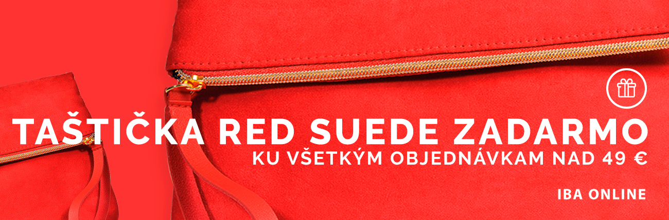 Red Suede bag - PUPA Milano
