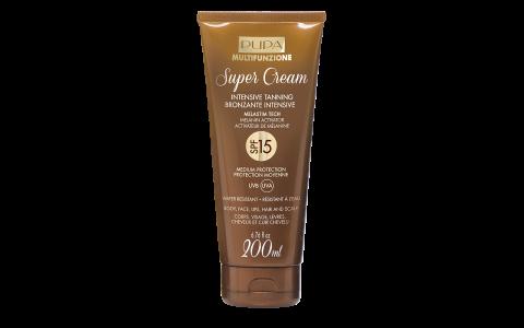 Super Cream   Intensive Tanning SPF 15